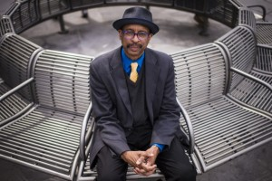 E. Ethelbert Miller at Dupont Metro station. photo by  Jabin Botsford/Washington Post
