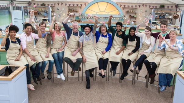 "Season 3 bakers from ""The Great British Baking Show"" on PBS"